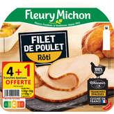 Fleury Michon FLEURY MICHON Filet de poulet - Rôti - 4 tranches - 150g