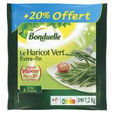 Bonduelle BONDUELLE Haricots verts - Extra fin - Précuits - 1,2kg