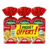 Panzani PANZANI Qualité or - Penne rigate - Pâtes - 2x500g