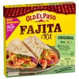 Old El Paso OLD EL PASO Kit pour Fajitas - Doux - Original barbecue - 8 ... - 500g