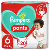 Pampers PAMPERS Baby-Dry - Nappy pants - Culottes - Taille 6 - x20