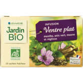 Jardin Bio JARDIN BIO Ventre plat - Infusion - Menthe anis vert mauve r... - x20