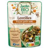 Jardin Bio JARDIN BIO Lentilles - Façon petit salé - Saveur du terroir ... - 250g
