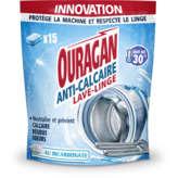 Ouragan OURAGAN Anti-calcaire tablette pour lave linge - Au bicarbon... - x15