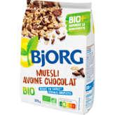 Bjorg BJORG Muesli - Avoine chocolat - Biologique - 375g