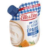 Elle & Vire ELLE & VIRE Crème - Légère - Epaisse - 12% m.g - 33cl