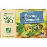 Jardin Bio JARDIN BIO Détente sommeil - Infusion - Tilleul verveine aub... - 30g