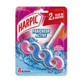 Harpic HARPIC Fresh Power 6 - Bloc wc - Parfum fleur tropicale - x1