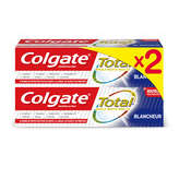 Colgate COLGATE Total - Dentifrice - Blancheur - 2x75ml