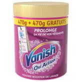 Vanish VANISH Oxi Action - Détachant textile en poudre - Préserve l... - 2x470g