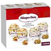 Häagen-Dazs HAAGEN DAZS Iconic collection - Crème glacée - salted carame... - 4x95ml