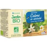 Jardin Bio JARDIN BIO Infusion calme et sérénité - Saveur fleur d'orang... - 30g