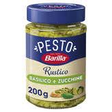 Barilla BARILLA Pesto rustico - Sauce Basilic Courgettes - 200g