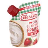 Elle & Vire ELLE & VIRE Crème entière épaisse 30%MG - 33cl