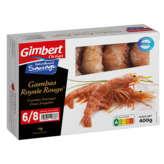 Gimbert Océan GIMBERT OCEAN Gambas Royale - Rouges - Crues - 6/8 pcs - 400g