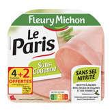 Fleury Michon FLEURY MICHON Le Paris - Jambon - Sans couenne - 210g
