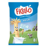 Ficello FICELLO Formes - Fromage nature - Gouter enfant - 8x20g