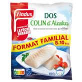 Findus FINDUS Dos de Colin d'alaska auvage - 8/10 pcs - 650g