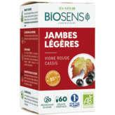 Léa Nature LEA NATURE Biosens - Gélules végétales - Jambes légères - Vignes rouges et cassis - Biologique - x60