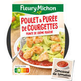 Fleury Michon FLEURY MICHON Poulet - Tomates - Purée de courgettes - 300g