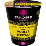 Tanoshi TANOSHI Nouilles Japonaises saveur Poulet Teriyaki - 65 g