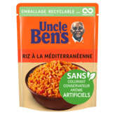 Uncle Ben's UNCLE BEN'S Riz à la méditerranéenne - 250g