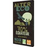 Alter Eco ALTER ECO Tablette de chocolat - Noir - 70% de cacao - Equat... - 100g