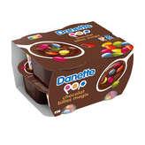 Danone DANONE Danette pop Crème dessert Chocolat et billes chocolats  4 pots - 4x120g